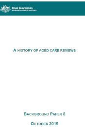 Aged Care Reviews History