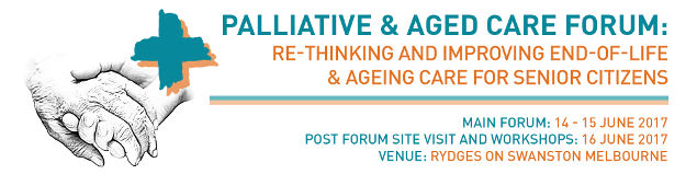 Palliative and Aged Care Forum