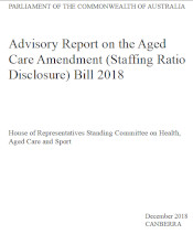 Staffing ratios aged care