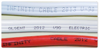 Infinity electrical cables